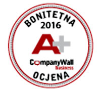 CompanyWall A+ certifikat 2016