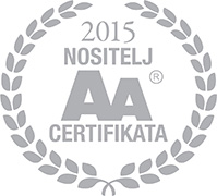 Bisnode AA certifikat 2015